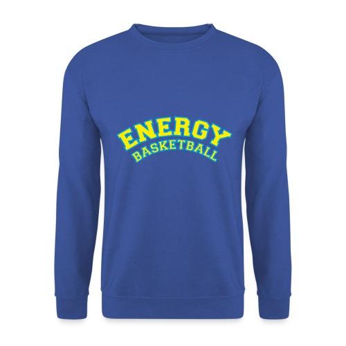 street wear logo giallo energy basketball - Felpa da uomo