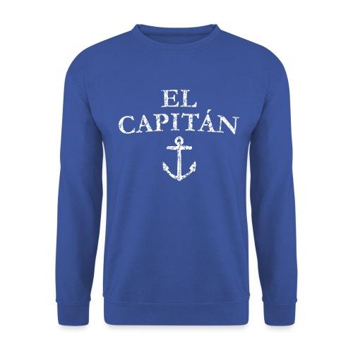 El Capitan Anker (Vintage Weiß) Kapitän Käpt'n - Unisex Pullover