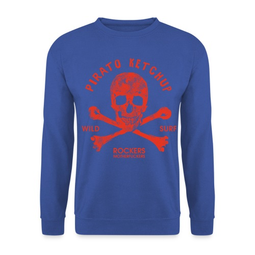 Pirato Ketchup Red Skull - Unisex Sweatshirt