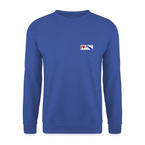 love 8x3 120dpi blau - Unisex Pullover