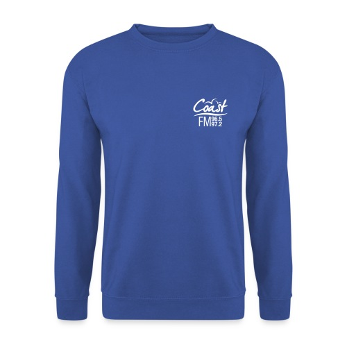Coast FM single colour logo - Men's Sweatshirt