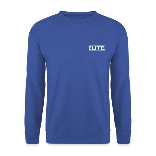 Elite White - Men's Sweatshirt