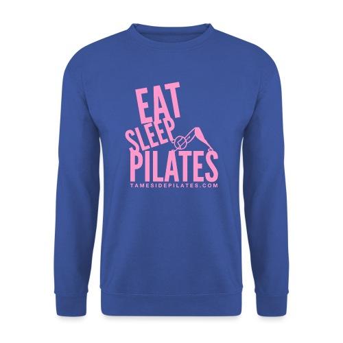 eat sleep pilates 2019 pink - Men's Sweatshirt