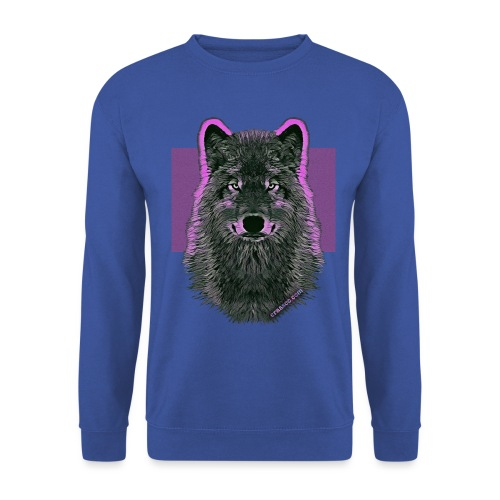 WOLF PINK IN LOVE - Unisex Pullover