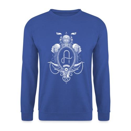 fabcl logo 02 white - Unisex Sweatshirt