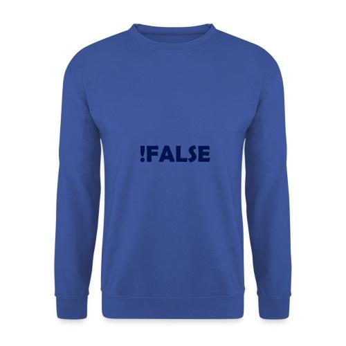 !False - Männer Pullover