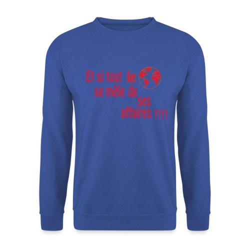 BNT création - Sweat-shirt Unisexe