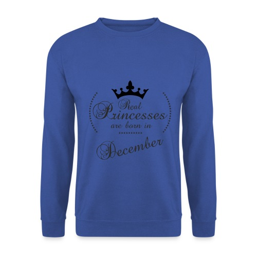 Real Princesses black December - Männer Pullover