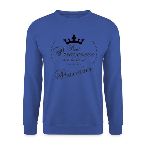 Real Princesses black December - Männer Pullover