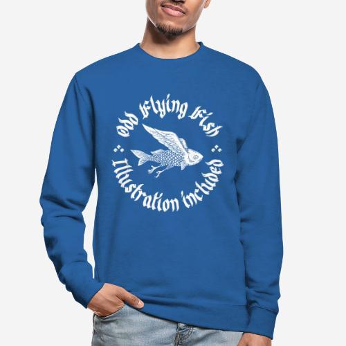 odd flying fish - Unisex Pullover