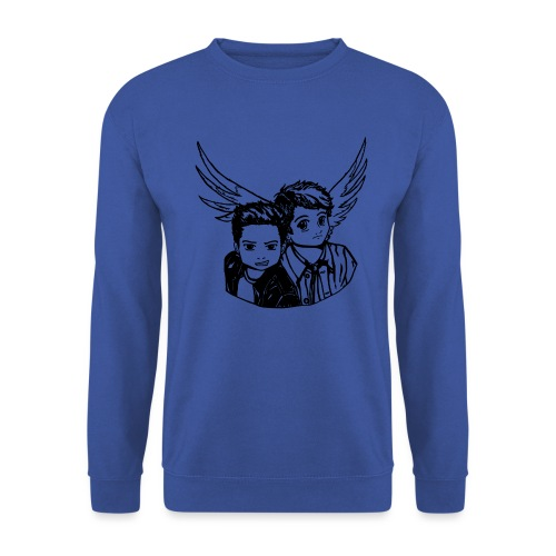 Destiel (Silhuet) - Unisex sweater