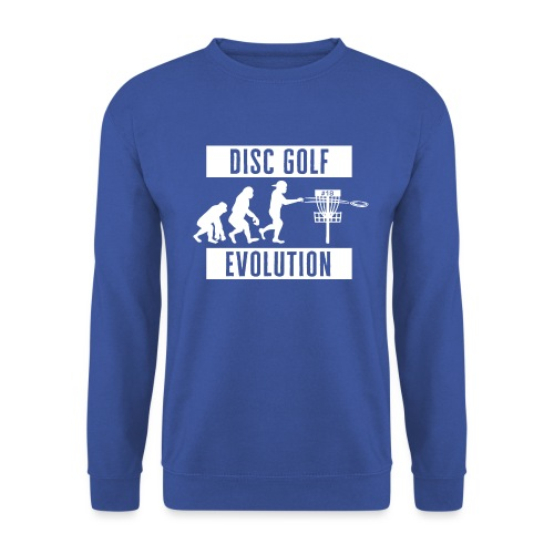 Disc golf - Evolution - White - Unisex svetaripaita