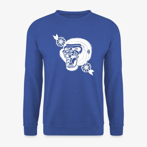 Tshirt Gorilla White - Sweat-shirt Homme