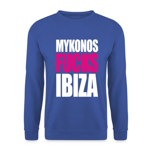 MYKONOS VS IBIZA - Sweat-shirt Unisexe