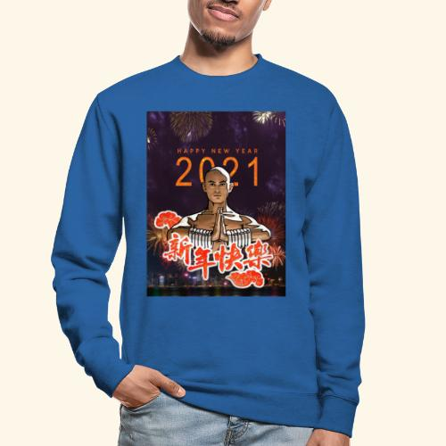 Gordon Liu as San Te - Warrior MonK - New Year - Unisex sweater