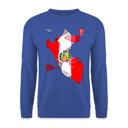 Mapa del Peru, Bandera y Escarapela - Unisex Sweatshirt