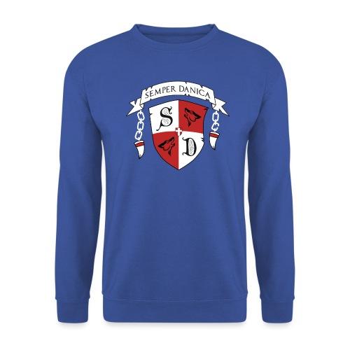 SD logo - hvide lænker - Unisex sweater
