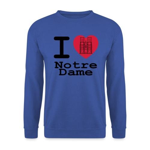 I love Notre Dame - Mannen sweater