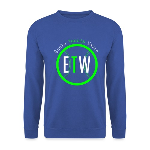logo rond tennis vert - Sweat-shirt Homme