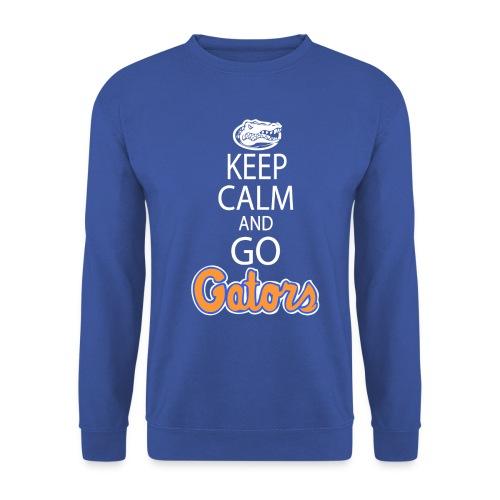 keepcalmdark shirthighreswhite - Men's Sweatshirt