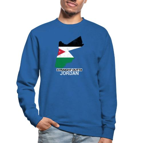 Straight Outta Jordan country map - Unisex Sweatshirt