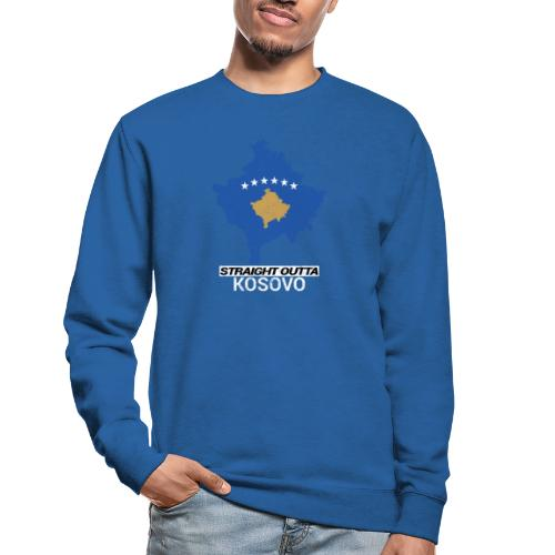 Straight Outta Kosovo country map - Unisex Sweatshirt