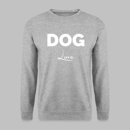 DOG LOVE - Geschenkidee für Hundebesitzer - Männer Pullover