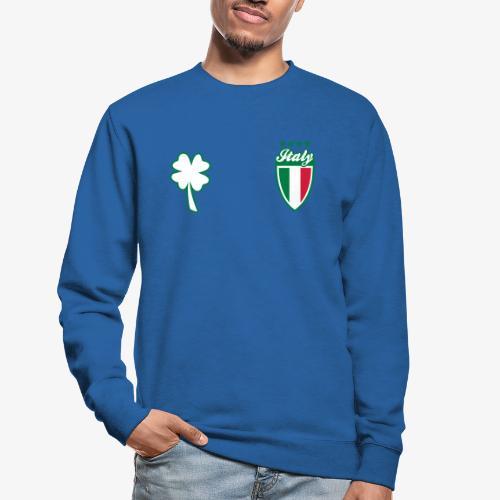 Italia Scudo e trifoglio - Felpa unisex