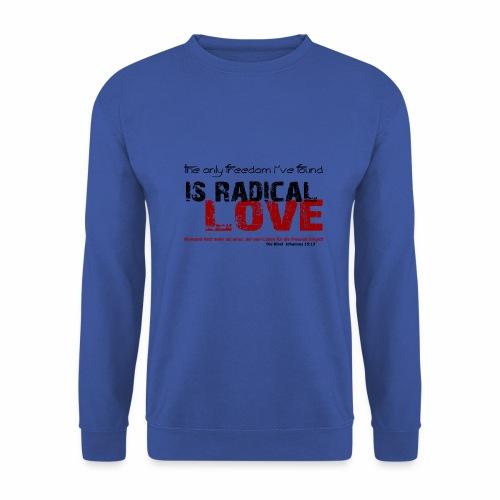 Radikale Liebe black - Männer Pullover