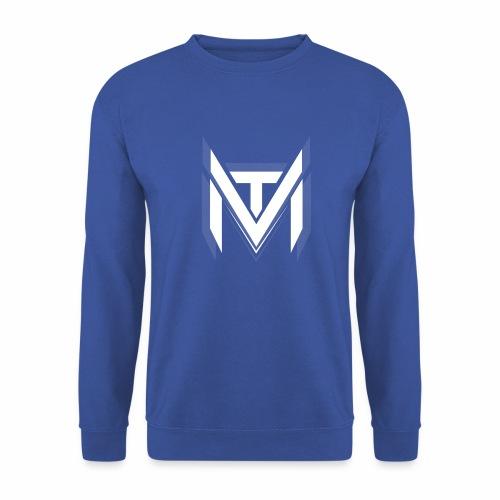 MadVexTV Logo Weiss - Unisex Pullover