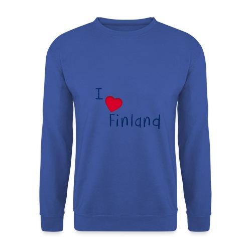 I Love Finland - Miesten svetaripaita