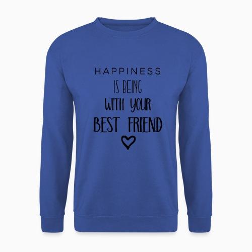 Happiness black edition - Men's Sweatshirt