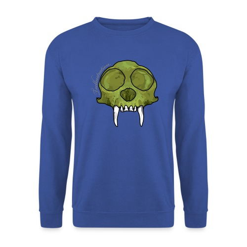 GreenMonkeySkull png - Unisex sweater