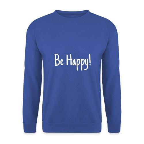 Be Happy - Männer Pullover