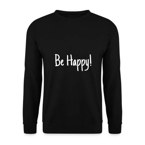 Be Happy - Männer Pullover