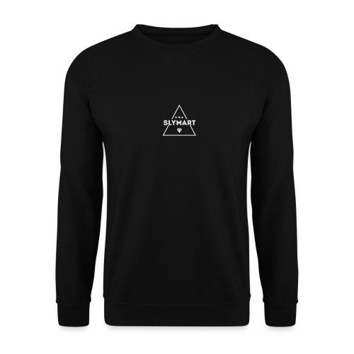 Slymart blanc - Sweat-shirt Unisex