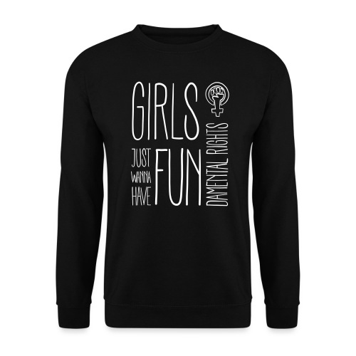 Girls just wanna have fundamental rights - Männer Pullover