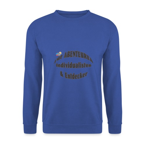 Abenteurer Individualisten & Entdecker - Männer Pullover