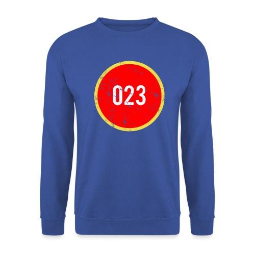 023 logo 2 washed regio Haarlem - Unisex sweater