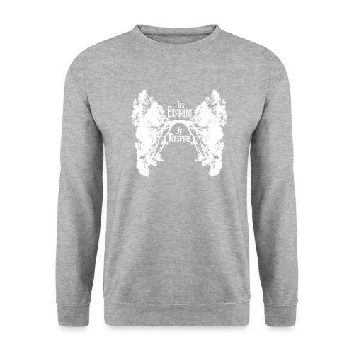 Oxygène blanc - Sweat-shirt Unisex
