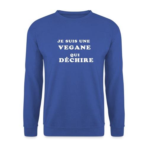 Je suis une vegane qui déchire - Sweat-shirt Homme