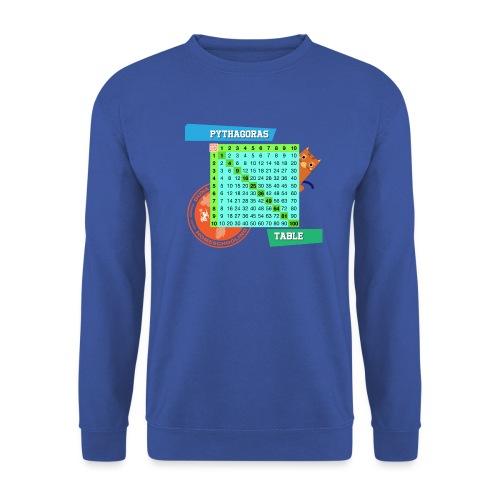 Pythagoras table - Genser unisex