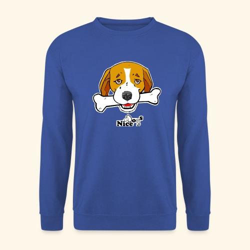 Nice Dogs Semolino - Felpa unisex