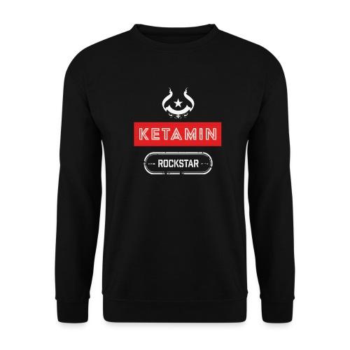 KETAMIN Rock Star - Weiß/Rot - Modern - Unisex Sweatshirt