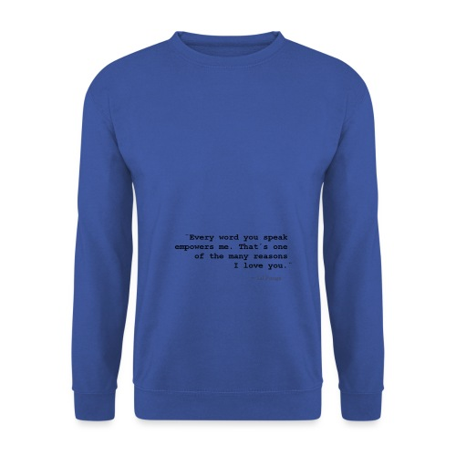 Empowerment - Black Text - Unisex Sweatshirt