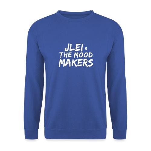 Jlei & The Mood Makers Schriftzug Weiss - Männer Pullover