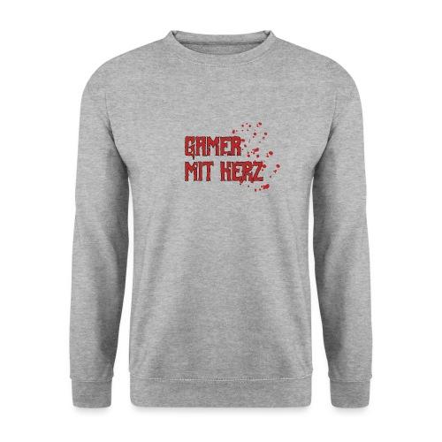 Gamer with heart - Men's Sweatshirt