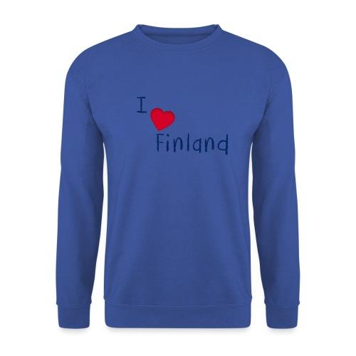 I Love Finland - Unisex svetaripaita