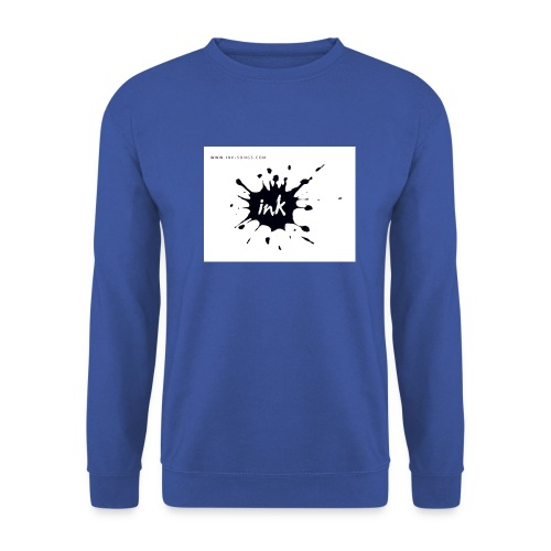 Ink Logo and website - Men's Sweatshirt