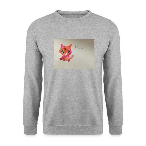 Little pet shop fox cat - Men's Sweatshirt